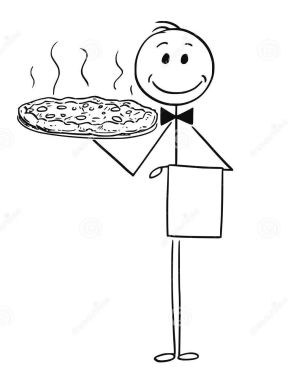 cartoon-waiter-holding-silver-plate-tray-pizza-cartoon-stick-man-drawing-conceptual-illustration-waiter-holding-110572364
